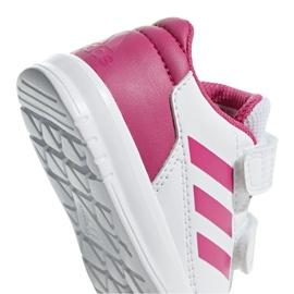 Adidas Altasport Cf I Jr D96846 shoes white violet 4