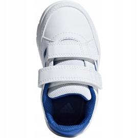 Adidas AltaSport Cf I Jr D96844 shoes white blue 1