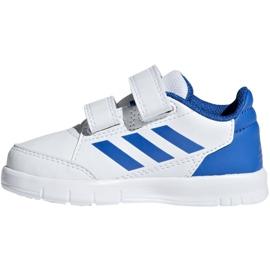 Adidas AltaSport Cf I Jr D96844 shoes white blue 2