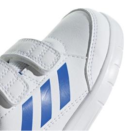 Adidas AltaSport Cf I Jr D96844 shoes white blue 3