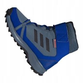 Adidas Terrex Snow Cf Cp Cw Jr G26579 shoes blue multicolored 1