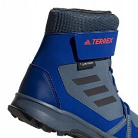 Adidas Terrex Snow Cf Cp Cw Jr G26579 shoes blue multicolored 5