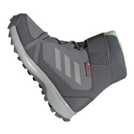 Adidas Terrex Snow Cf Cp Cw Jr G26580 shoes grey 2