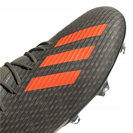 Adidas X 19.2 Fg M EF8364 football shoes grey green 3