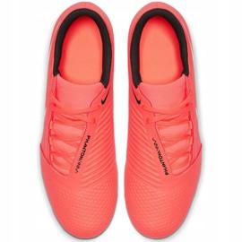 Nike Phantom Venom Club Fg M AO0577 810 football shoes white, orange orange 1