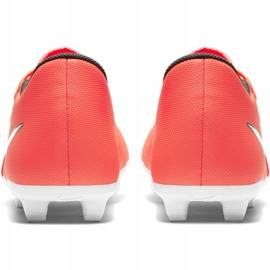 Nike Phantom Venom Club Fg M AO0577 810 football shoes white, orange orange 4
