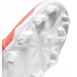 Nike Phantom Venom Club Fg M AO0577 810 football shoes white, orange orange 5