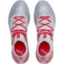 Puma Future 4.1 Netfit Fg Ag M 105579 01 football shoes red, gray / silver grey 1