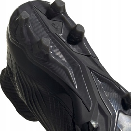 Adidas Predator 19.2 Fg M F35603 football shoes black black 5
