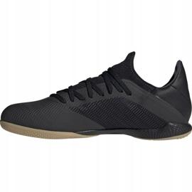 Adidas X 19.3 In M F35369 football shoes black black 1