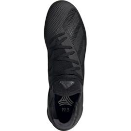 Adidas X 19.3 In M F35369 football shoes black black 2