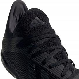 Adidas X 19.3 In M F35369 football shoes black black 3