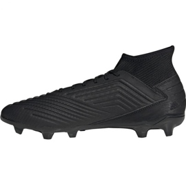 Adidas Predator 19.3 Fg M F35594 football shoes black black 1