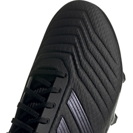 Adidas Predator 19.3 Fg M F35594 football shoes black black 4
