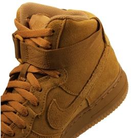 Nike Jr Air Force 1 High Lv 8 Gs Jr 807617-701 shoes yellow 2