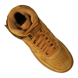 Nike Jr Air Force 1 High Lv 8 Gs Jr 807617-701 shoes yellow 4