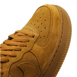 Nike Jr Air Force 1 High Lv 8 Gs Jr 807617-701 shoes yellow 5