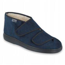 Befado women's shoes pu 986D010 navy blue 1