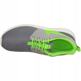 Nike Roshe One Gs W shoes 599728-025 grey green 2