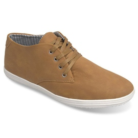 Fashionable High 3232 Camel Sneakers brown 2