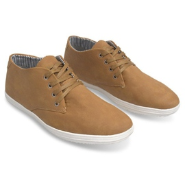 Fashionable High 3232 Camel Sneakers brown 3