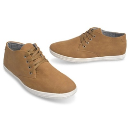 Fashionable High 3232 Camel Sneakers brown 4