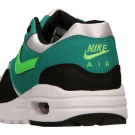 Nike Air Max 1 Gs Jr 807602-111 shoes black multicolored green 4