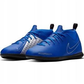 Nike Phantom Vsn Club Df Ic Jr AO3293 400 football shoes blue blue 2