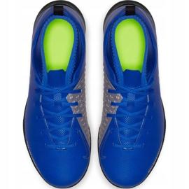 Nike Phantom Vsn Club Df Ic Jr AO3293 400 football shoes blue blue 3