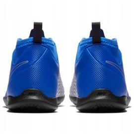 Nike Phantom Vsn Club Df Ic Jr AO3293 400 football shoes blue blue 4