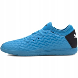 Indoor shoes Puma Future 5.4 It M 105804 01 blue blue 2
