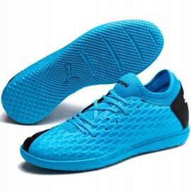 Indoor shoes Puma Future 5.4 It M 105804 01 blue blue 3