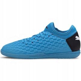 Indoor shoes Puma Future 5.4 It Jr 105814 01 blue navy 2
