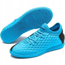 Indoor shoes Puma Future 5.4 It Jr 105814 01 blue navy 3