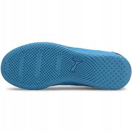 Indoor shoes Puma Future 5.4 It Jr 105814 01 blue navy 5