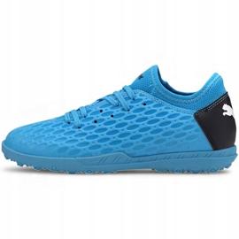 Puma Future 5.4 Tt Jr 105813 01 football shoes blue blue 2
