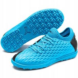 Puma Future 5.4 Tt Jr 105813 01 football shoes blue blue 3