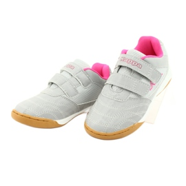Kappa Kickoff Jr 260509K 1522 shoes pink grey 3