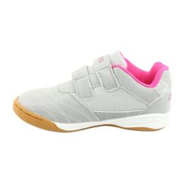 Kappa Kickoff Jr 260509K 1522 shoes pink grey 2