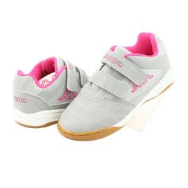 Kappa Kickoff Jr 260509K 1522 shoes pink grey 4