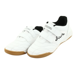 Kappa Kickoff Jr 260509K 1011 shoes white black 3