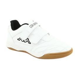 Kappa Kickoff Jr 260509K 1011 shoes white black 1