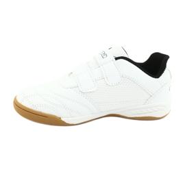 Kappa Kickoff Jr 260509K 1011 shoes white black 2