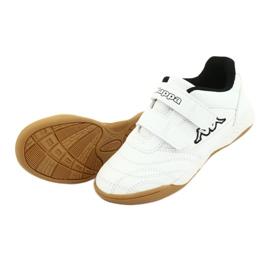Kappa Kickoff Jr 260509K 1011 shoes white black 4