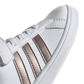 Adidas Grand Court C Jr EF0107 shoes white 3