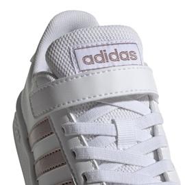 Adidas Grand Court C Jr EF0107 shoes white 4