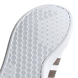 Adidas Grand Court C Jr EF0107 shoes white 5