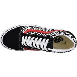 Vans Old Skool M VN0A4BV5TIJ1 shoes black multicolored 2