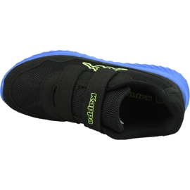 Kappa Cracker Ii Bc K Jr 260687K-1160 shoes black 2