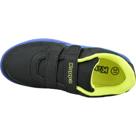 Kappa Trooper Ice Jr 260745K-1160 shoes black 2